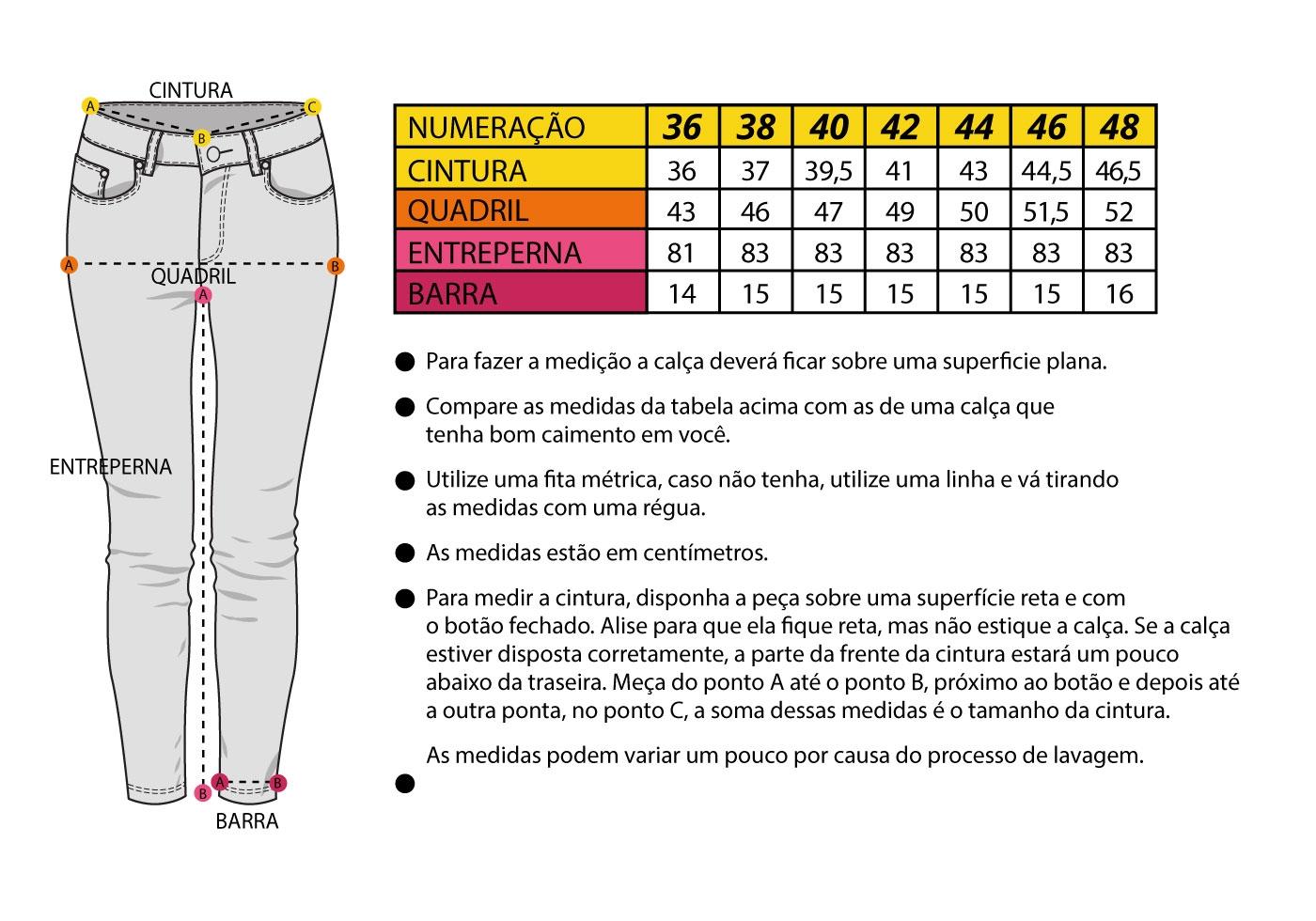 Guia Riding Jeans Feminino PRETO