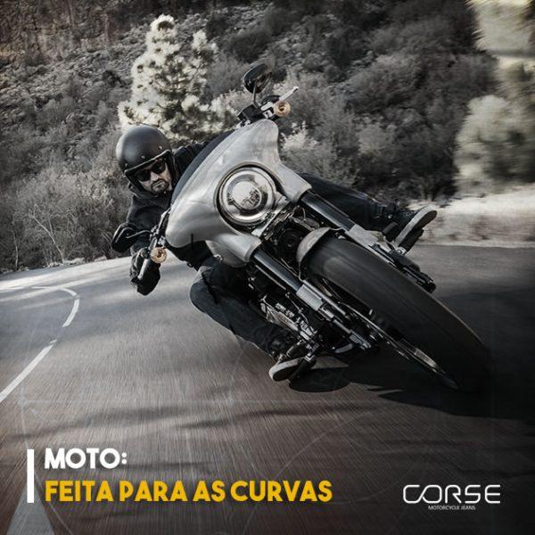 Motos: feitas para as curvas!