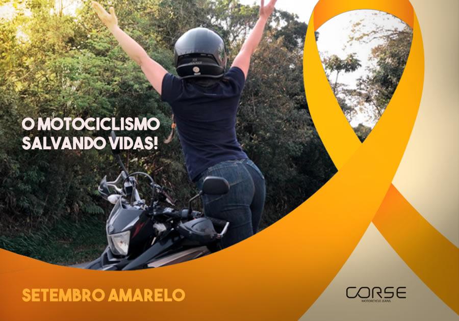 Setembro Amarelo: o motociclismo salvando vidas